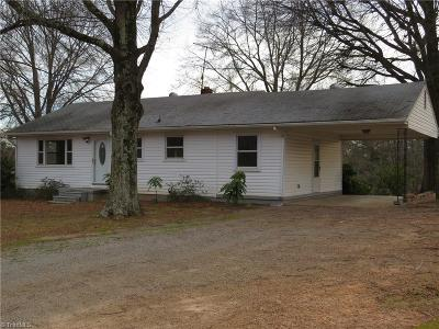 Reidsville NC Single Family Home For Sale: $64,900