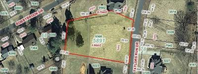 Clemmons Residential Lots & Land For Sale: 5460 Taylors Run Drive