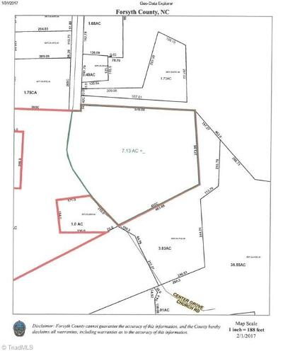Clemmons Residential Lots & Land For Sale: Tract B Center Grove Church Road