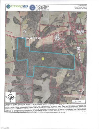 Alamance County Residential Lots & Land For Sale: Gilliam Church Road