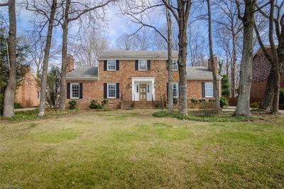 Greensboro Single Family Home For Sale: 806 Westminster Drive