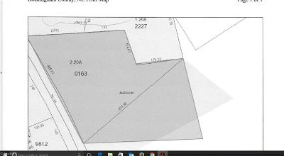 Rockingham County Commercial Lots & Land For Sale: 00 Nc Highway 704