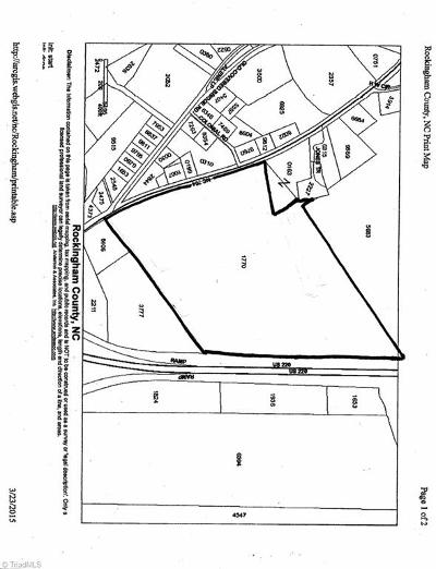 Rockingham County Commercial Lots & Land For Sale: 00 Us Highway 220