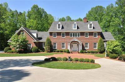 Winston Salem NC Single Family Home For Sale: $1,087,000