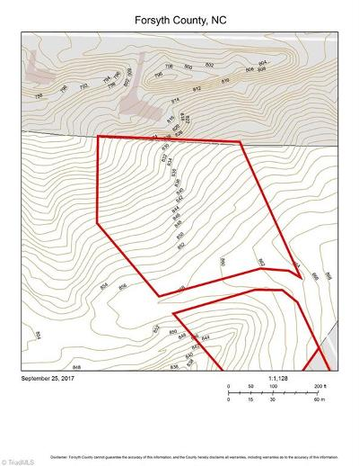 Winston Salem Residential Lots & Land Due Diligence Period: 2.56 Acres Walnut Hill Drive