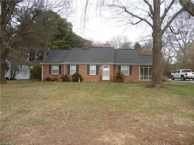 Caswell County Single Family Home For Sale: 952 Main Street