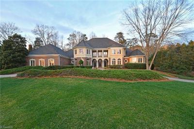 Winston Salem NC Single Family Home For Sale: $974,500