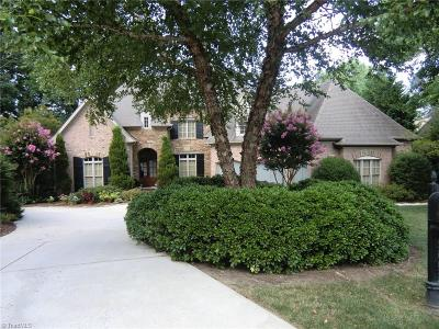 Greensboro NC Single Family Home For Sale: $960,000