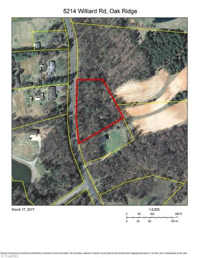 Oak Ridge Residential Lots & Land For Sale: 5214 Williard Road