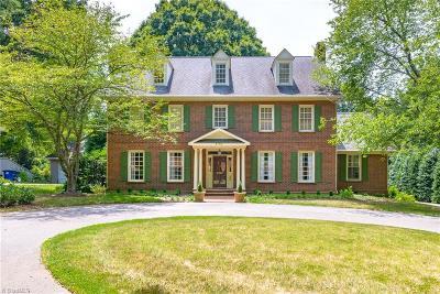 Winston Salem NC Single Family Home For Sale: $725,000