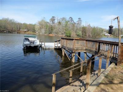 Denton, Lexington, Salisbury, Spencer, Richfield Single Family Home For Sale: 1537 Hickory Point Drive