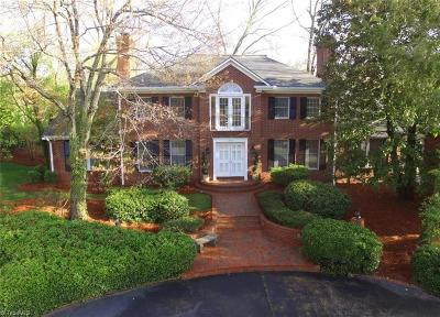High Point Single Family Home For Sale: 900 Forest Hill Drive