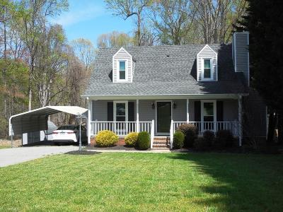 Reidsville NC Single Family Home For Sale: $129,900