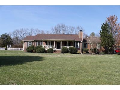 Browns Summit Single Family Home For Sale: 7484 Middlestream Road