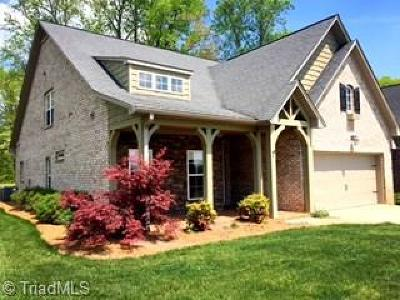 Mocksville Single Family Home For Sale: 111 N Lake Louise Drive