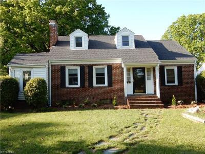 Emerywood Single Family Home For Sale: 742 Ferndale Boulevard