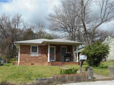 Reidsville NC Single Family Home For Sale: $29,900