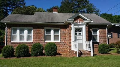 Caswell County Single Family Home For Sale: 771 Main Street W
