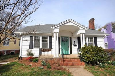 Winston Salem Single Family Home For Sale: 638 Irving Street