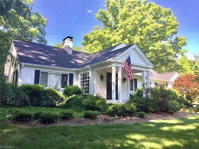 Winston Salem Single Family Home For Sale: 1830 Robinhood Road