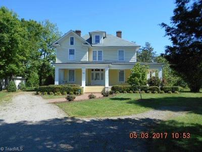 Rockingham County Single Family Home For Sale: 750 Morgan Road