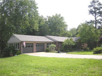 Winston Salem Single Family Home For Sale: 5725 Gumtree Road