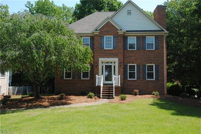 Clemmons West Single Family Home For Sale: 3727 Squirewood Drive
