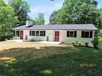 Pfafftown Single Family Home For Sale: 2290 Beroth Road