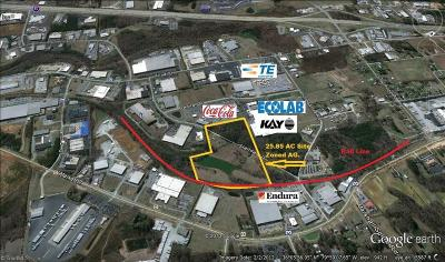 Guilford County Commercial Lots & Land For Sale: 215 Standard Drive