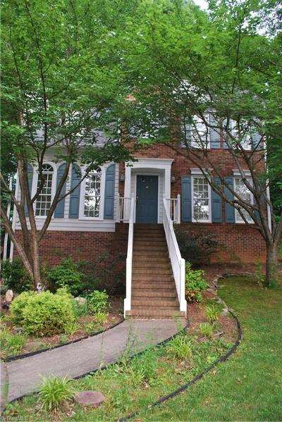 Winston Salem Single Family Home For Sale: 1951 Winding Ridge Road