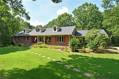 Advance Single Family Home For Sale: 153 Cherokee Trail