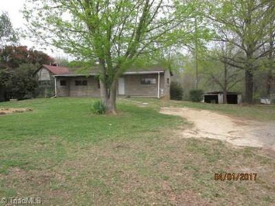 Caswell County Single Family Home For Sale: 252 Holland Road
