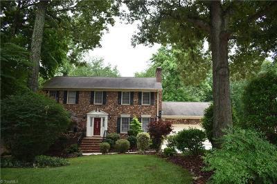 Oak Hollow Estates Single Family Home For Sale: 1816 Dantzler Road