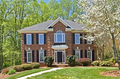 Winston Salem Single Family Home For Sale: 120 Chestnut Hill Court