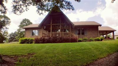 Advance Single Family Home For Sale: 288 Harper Road