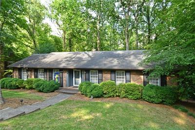 Winston Salem Single Family Home For Sale: 3441 Buena Vista Road