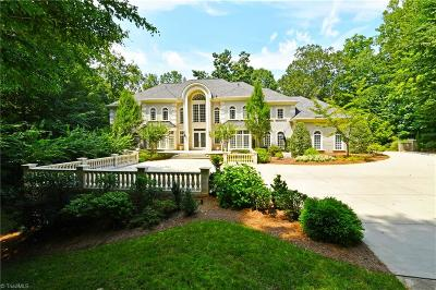 Winston Salem NC Single Family Home For Sale: $1,695,000
