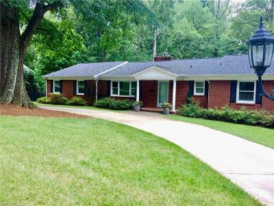 Winston Salem Single Family Home For Sale: 980 Kenleigh Circle