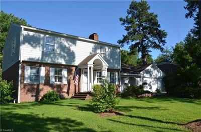 Single Family Home For Sale: 1603 Country Club Drive