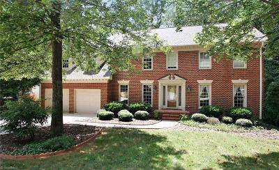 Greensboro Single Family Home For Sale: 1525 Fox Hollow Road