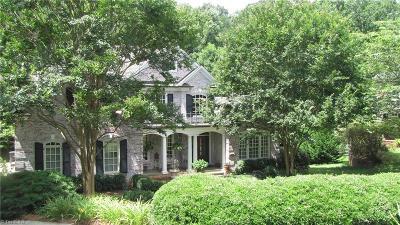 Winston Salem NC Single Family Home For Sale: $785,900