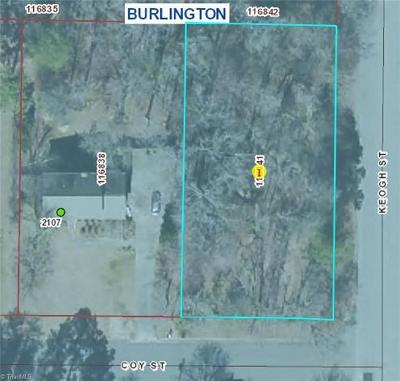 Alamance County Residential Lots & Land For Sale: Keogh Street