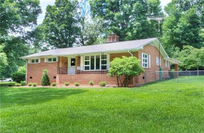 Reidsville Single Family Home For Sale: 157 Irvin Farm Road
