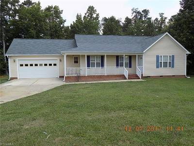 Gibsonville Single Family Home For Sale: 6203 Loy Drive