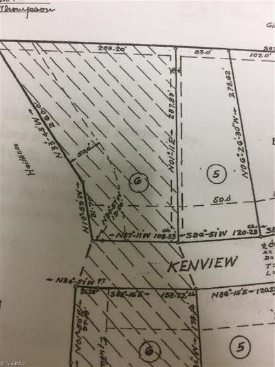 Greensboro Residential Lots & Land For Sale: 5010 Kenview Street