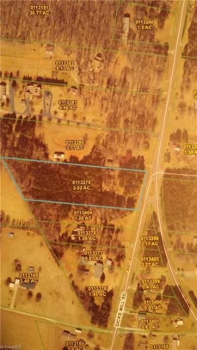 Guilford County Residential Lots & Land For Sale: 6415 McLeansville Road