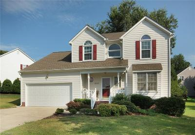 Guilford County Single Family Home For Sale: 5107 Birnamwood Trail
