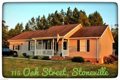 Stoneville Single Family Home For Sale: 115 Oak Street