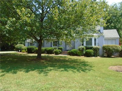Reidsville Single Family Home For Sale: 627 Maple Avenue