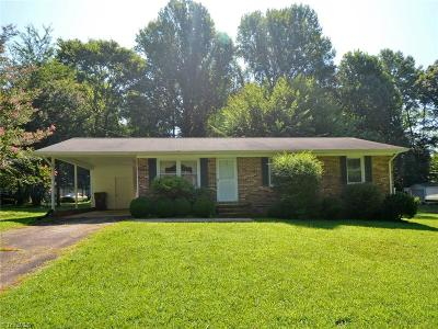 Reidsville Single Family Home For Sale: 151 Davidson Drive